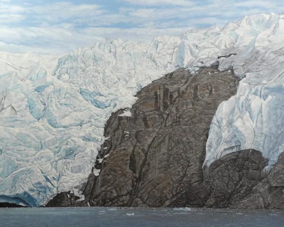 Glacier vs Mountain