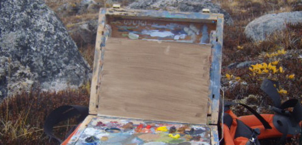 paintbox in the arctic
